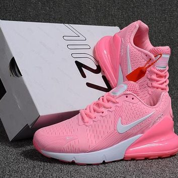 "Nike Air Max 270 ""White Pink"" Running Shoes - Best Deal Online e5c0d4ead9"