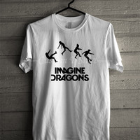 Imagine Dragons tshirt -tri1 Unisex T- Shirt For Man And Woman / T-Shirt / Custom T-Shirt