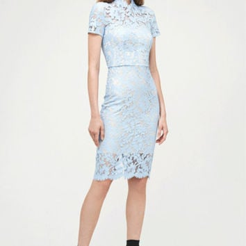 Powder Warrior Lace Midi Dress by Lover
