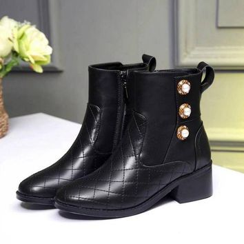 Chanel Women Boots Shoes-1