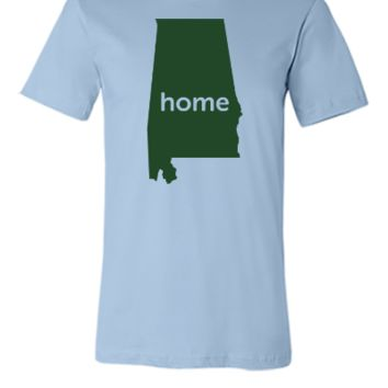 alabama home - Unisex T-shirt