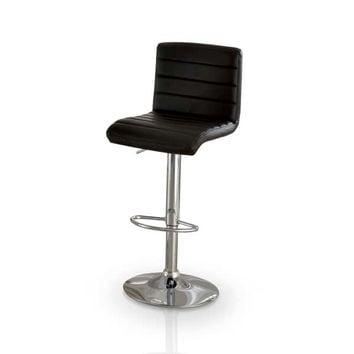 Furniture of America Winzzy Adjustable Height Hydraulic Bar Stool | Overstock.com Shopping - The Best Deals on Bar Stools