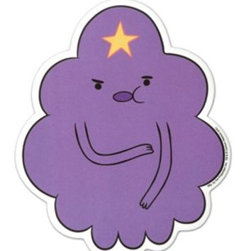 Lumpy Space Princess Adventure Time Sticker - Buy Online at Grindstore.com