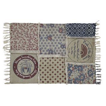 Millie Patchwork Rug Rect 27x48