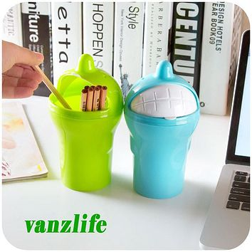 vanzlife car 0.5L mini trash can fashion cars garbage bin portable travel can storage box