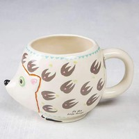 Hedgehog Folk Art Mug By Natural Life