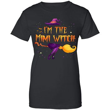 I Am The Mimi Witch Halloween Costume Gift