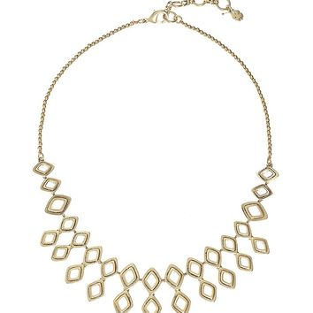 Lucky Brand Openwork Collar Necklace Womens - Medium Dark Yellow
