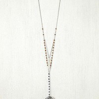 Free People  Double Layer Rosary at Free People Clothing Boutique