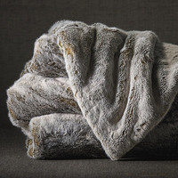 Estate Luxury Faux Fur Throw