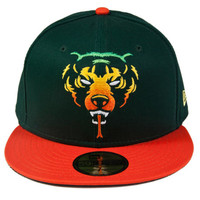 Oversized Rasta Adder New Era (Dark Green)