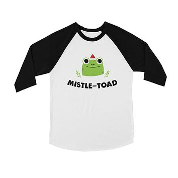 Mistle Toad BKWT Kids Baseball Shirt