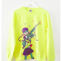Gungirl Crewneck Sweater