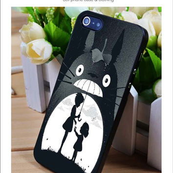 Totoro iPhone for 4 5 5c 6 Plus Case, Samsung Galaxy for S3 S4 S5 Note 3 4 Case, iPod for 4 5 Case, HtC One for M7 M8 and Nexus Case