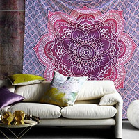 Mandala Throw Bohemian hippie Beach throw, picnic rugs, wall decor
