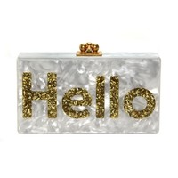 Jean Hello Clutch | Editorialist