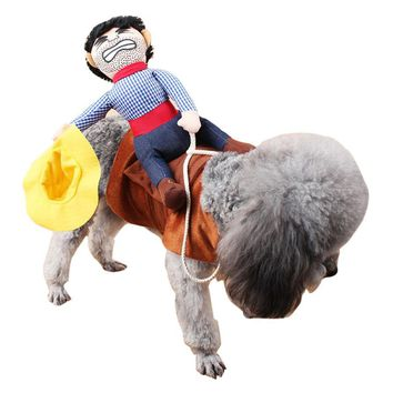 Funny Cowboy Costume for Dogs