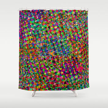 Sequinned Shower Curtain by Glanoramay