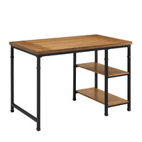 Linon Austin Two Shelf Desk