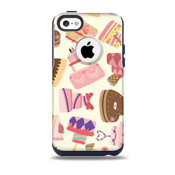Cakes and Sweets Pattern Skin for the iPhone 5c OtterBox Commuter Case