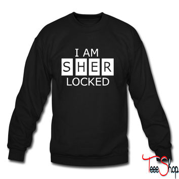 I Am SherLocked crewneck sweatshirt