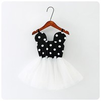 Girls Minnie Mouse Tutu Party Dress