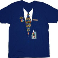 30 Rock NBC Kenneth Parcell Page Uniform Navy T-shirt  - 30 Rock - | TV Store Online