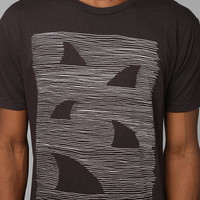 Urban Outfitters - Freedom Artists Sharks Tee