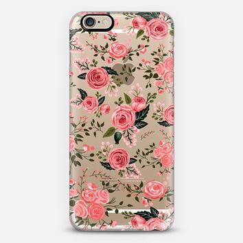 FLORAL PINK ROSES by Harvest Paper Co. iPhone 6 case by Harvest Paper Co. | Casetify