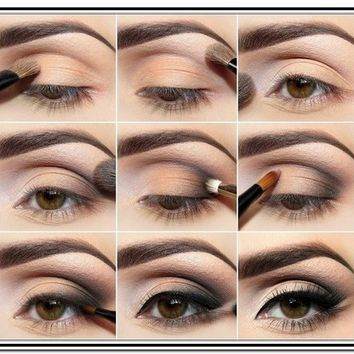 Eye Makeup For Hazel Eyes Step By Step - Makeup : New Fashion Ideas #MPN15abNXr