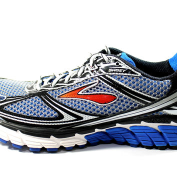 Brooks Men's Ghost 5 Blue/Black Neutral Running Shoes