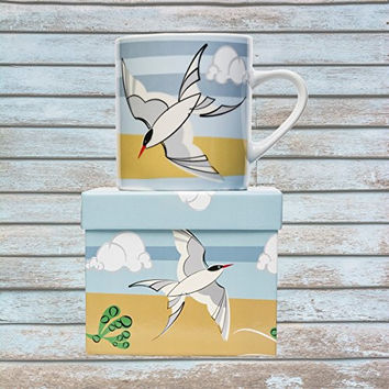 Magpie Coast Big Mug - Coastal Aquatic Birds (Common Tern)