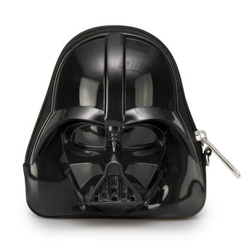 Star Wars Loungefly Darth Vader Darkside Black 3D Coin/Clutch Bag