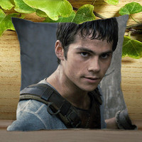 Dylan o brien The maze runner on Pillow Cover