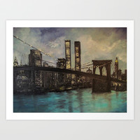 The Twin Towers, New York, NY  Art Print by Rokin Art by RokinRonda