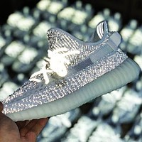 Adidas Yeezy 350 V2 Boots Static Fashion Unisex Casual Sport Running Shoes Sneakers
