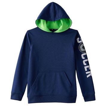 Tek Gear Performance Fleece Hoodie - Boys 8-20, Size: