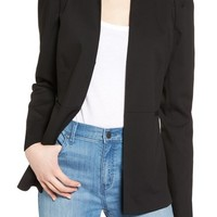 Halogen® Puff Shoulder Jacket (Regular & Petite) | Nordstrom