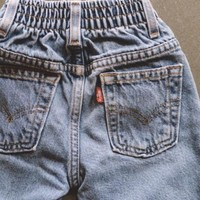 Vintage Light Wash Denim Levi's - 3T