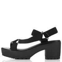 HYPNOTIC Cleated Sandals - Black