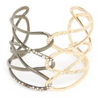 Alexis Bittar Two Tone Chain Cuff - Bloomingdale's Exclusive