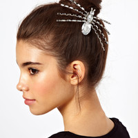 ASOS | ASOS Spider Hair Brooch at ASOS