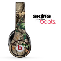 Real Woods Camouflage V1 Skin for the Beats by Dre Solo, Studio, Wireless, Pro or Mixr