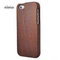 Unique Handmade Natural Wood Wooden Hard bamboo Case Cover for iPhone 5 with free screen protector(Verawood)