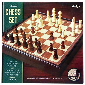 Go Games Deluxe Wooden Chess Set by Beauty Land Enterprises Co.