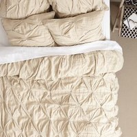 Aurora Linen Duvet by Anthropologie