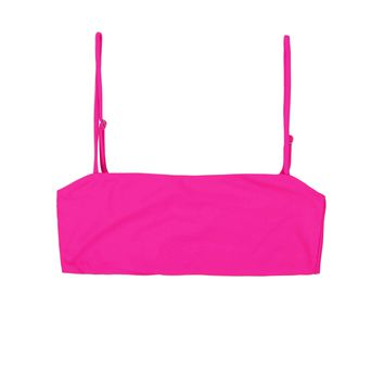 Skin by Same - Bandeau Top | Neon Pink