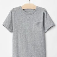 Solid pocket tee
