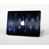 """The Glowing Blue WaveLengths Skin Set for the Apple MacBook Pro 15"""" with Retina Display"""