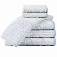 Rosita Luxury Sculpted Egyptian Cotton Towel Set